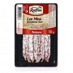 493 - Minis saucissons secs Nature 100g